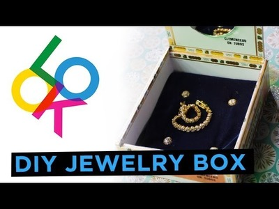 Velvet Jewelry Box: Look DIY