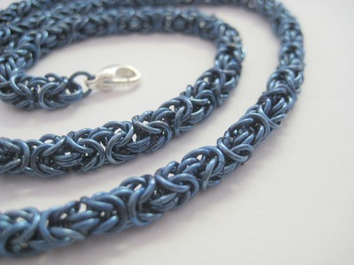 Video tutorial DIY | tutorial come fare una catena chainmail bizantina, how to chain