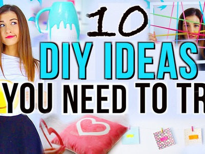 10 DIY Project Ideas You NEED To Try!