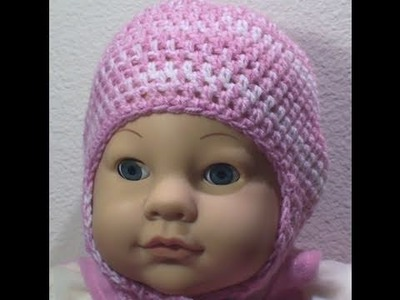 Baby Crochet Hat Ear Flaps Crochet Geek