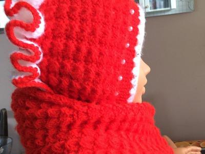 Caciulita tricotata partea I.Вязание спицами для начинающих Вязаная шапка.How to knit a hat