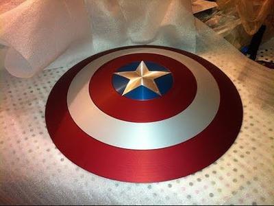 Captain America Shield: DIY Tutorial