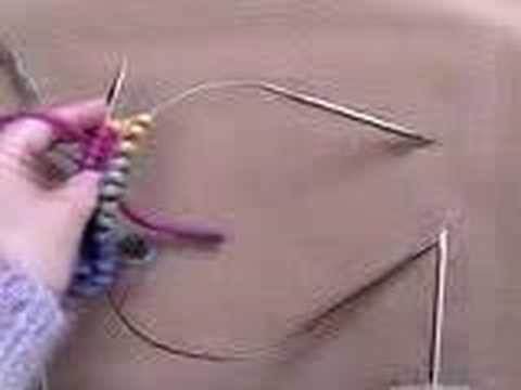 Cat Bordhi - Part 1: Knitting on 2 circular needles