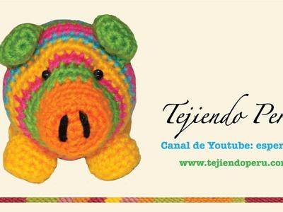 Chanchito tejidos en crochet  (amigurumi) Parte 4: acabados