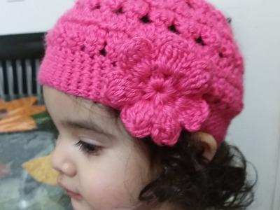 Como tejer Gorro en crochet para niñas
