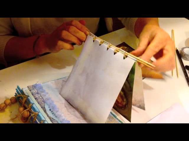 Craft Ideas - How to make a scrapbook
