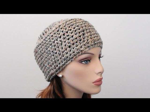 Crochet Beanie Hat - How to Crochet Beanie Hat