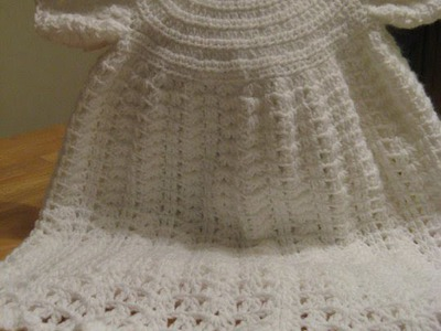Crochet Christening Gown - video 3