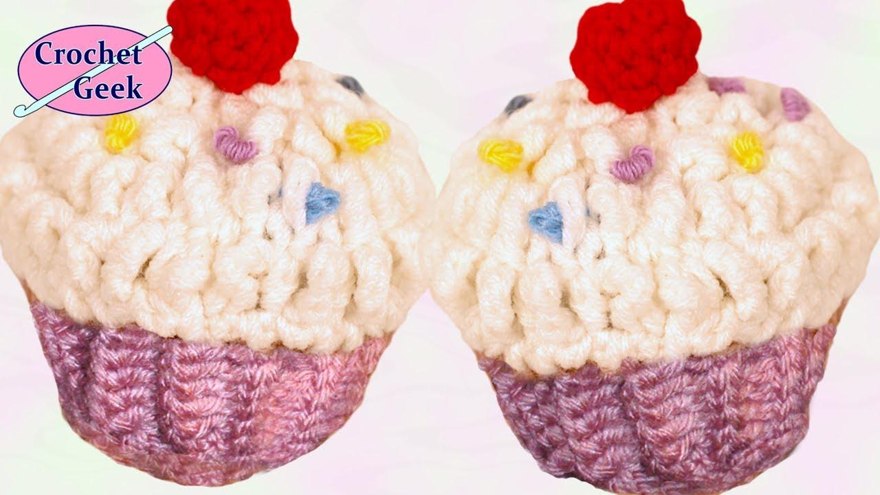 CROCHET CUPCAKE Crochet Geek