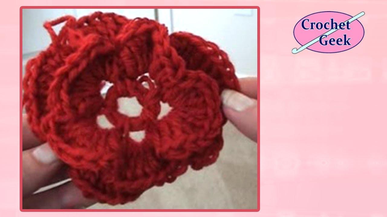 Crochet Flower Crochet Geek