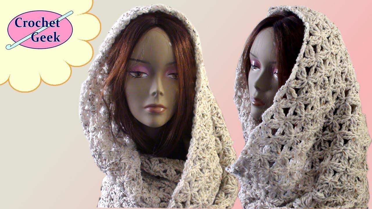 Crochet Geek Infinity Scarf Blossom Stitch