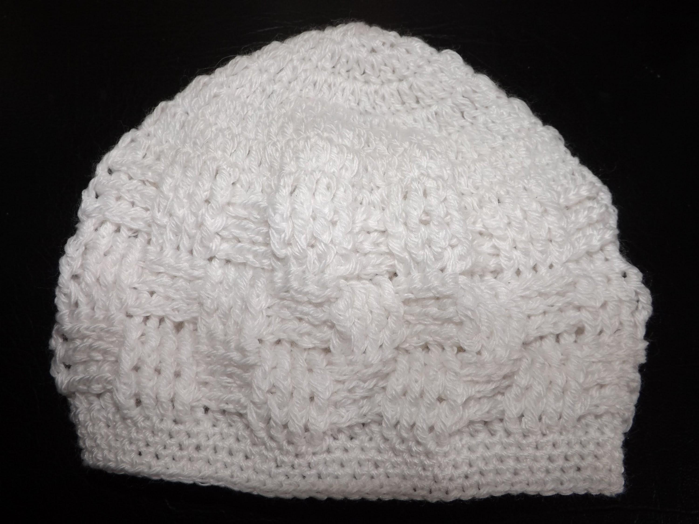 Crochet Gorrito Para Bebe' Recien Nacido