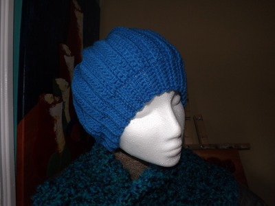 Crochet Gorro Para Adulto