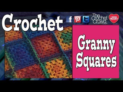 Crochet-Granny Square Color. Colour Change