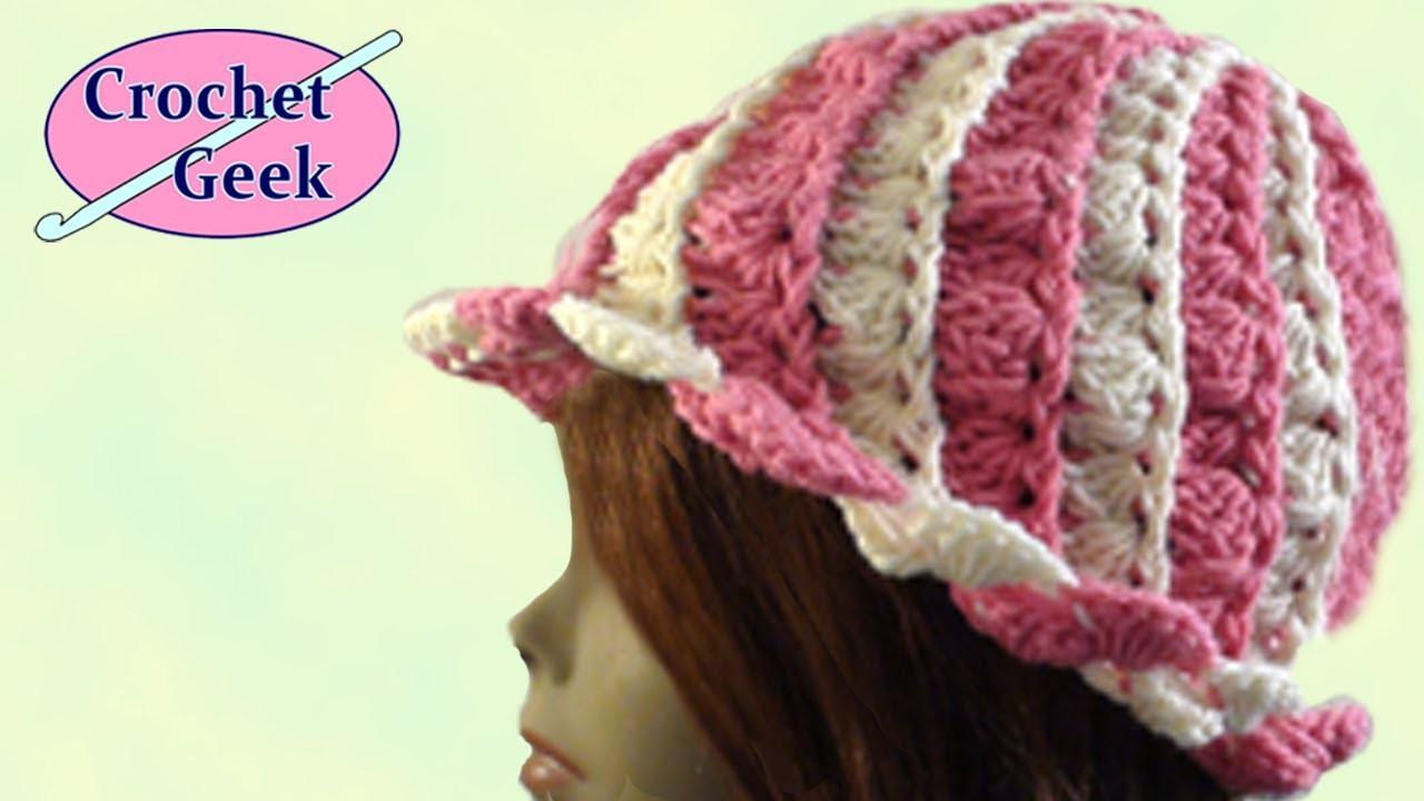 Crochet Hat Blaise - Crochet Geek