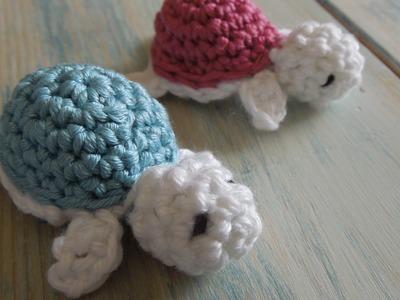 (crochet) How To - Crochet a Baby Turtle - Yarn Scrap Friday