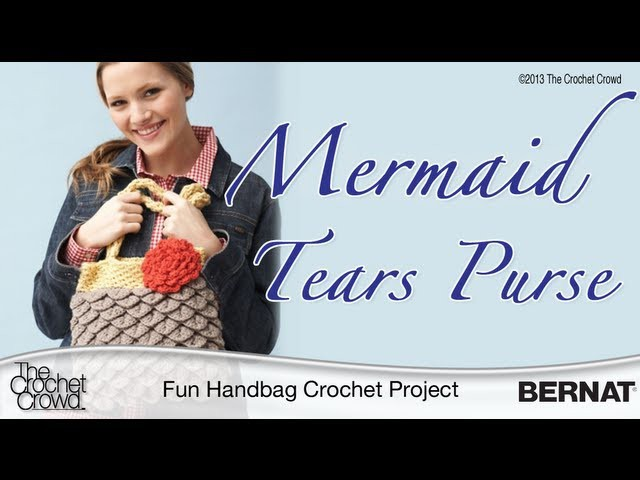 Crochet Mermaid Tears Purse - Part 1