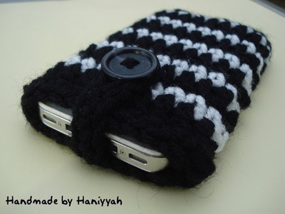 Crochet Pattern - cell phone cover case cozy