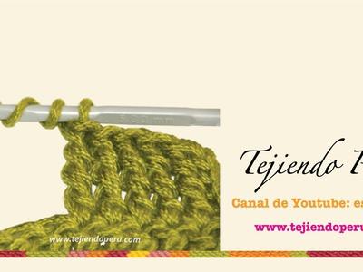 Crochet: punto alto triple o triple vareta