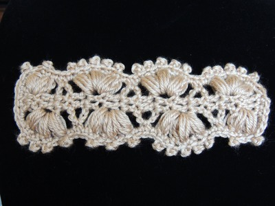 Crochet : Punto Cintillo (o Cinturón)
