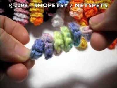 Crocheted Corkscrew Tutorial