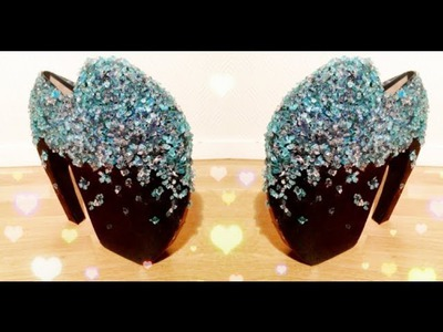 ♡ D.I.Y Alexander McQueen armadillo heels tutorial (Lady Gaga shoes) ♡