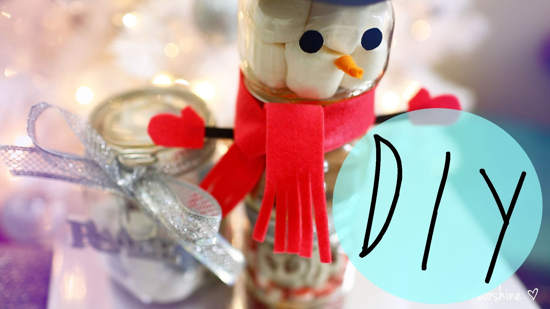 DIY Cute Holiday Gift Ideas Using Jars | ANNEORSHINE