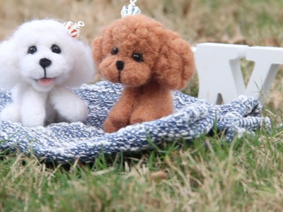 DIY Cute Poodle Plushie