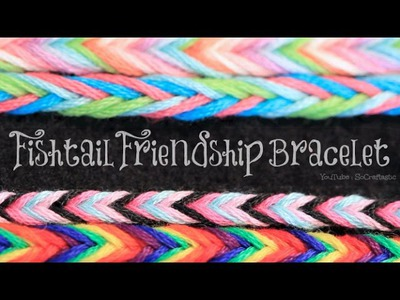 DIY Fishtail Friendship Bracelet - Easy String Bracelets How To