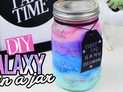DIY GALAXY IN A JAR