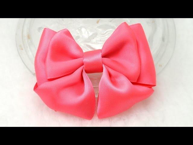 DIY, How to Make Bow, DIY, Tutorial, Ribbon Bow #4