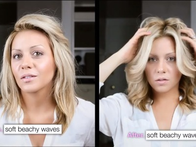DIY: Perfect Victoria's Secret Beach Waves.