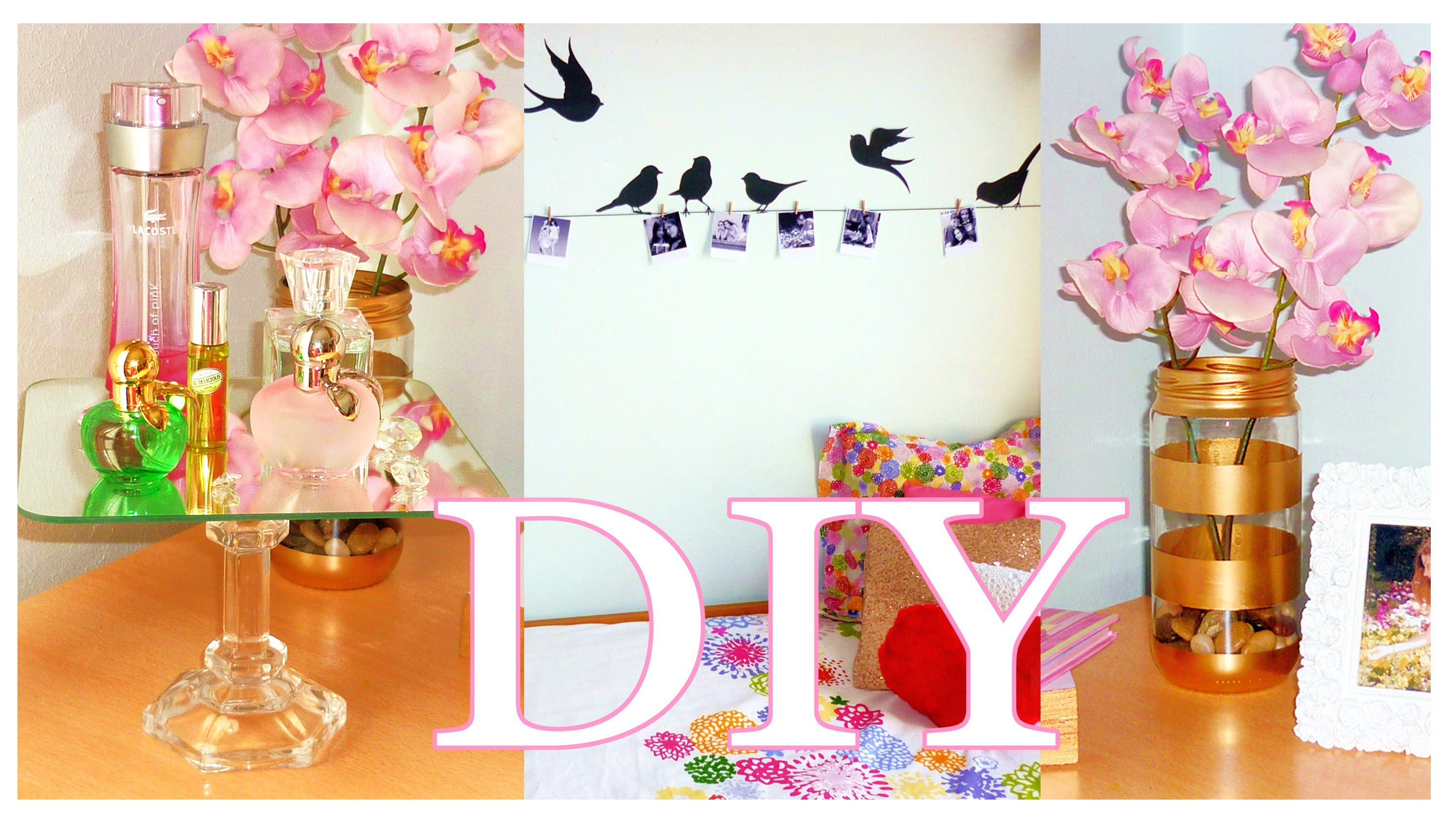 DIY ROOM DECOR ❤ Cheap & cute projects | LOW COST ideas!!