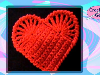 Easy Crochet Heart Crochet Geek