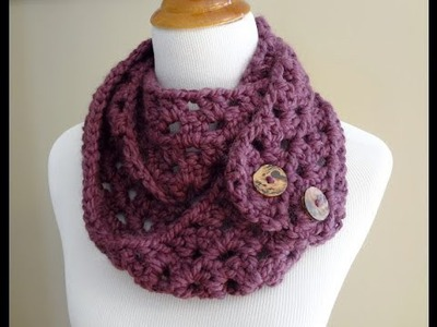 Episode 19: How to Crochet the Fiona Button Scarf