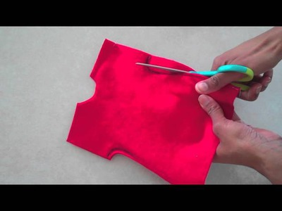Fabulous Felt: How to Make a Doll Dress : Easy
