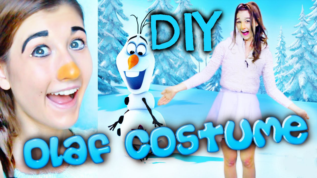 How To Be Olaf From Frozen!