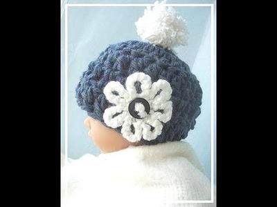 HOW TO CROCHET A 15 MINUTE CHUNKY STYLE BABY HAT