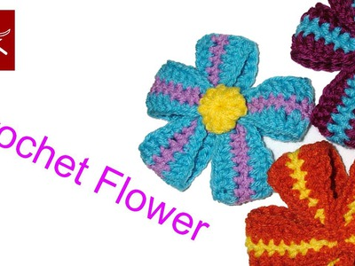 How to Crochet a Ribbon Flower - Crochet Geek Crochet Geek