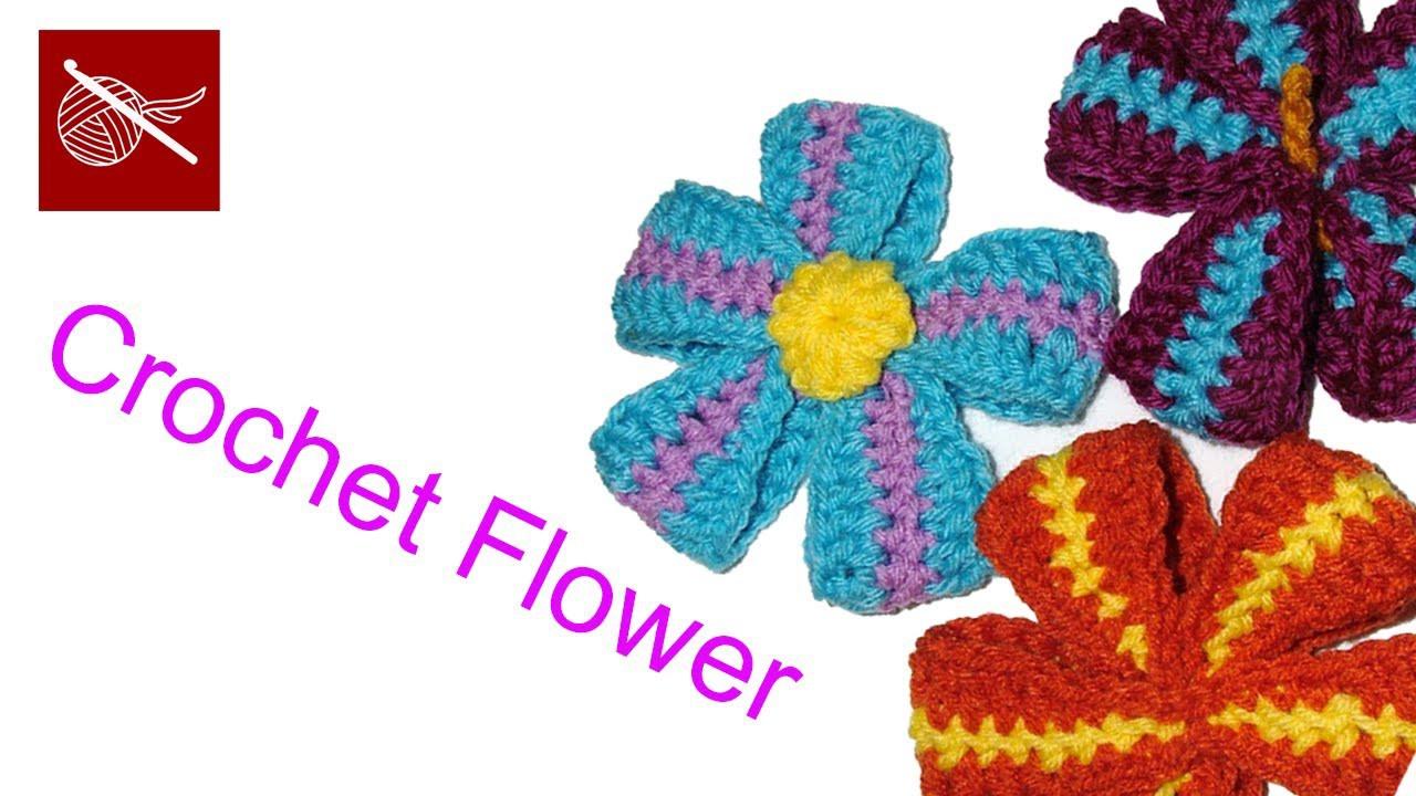 How to Crochet a Ribbon Flower - Crochet Geek Crochet Geek