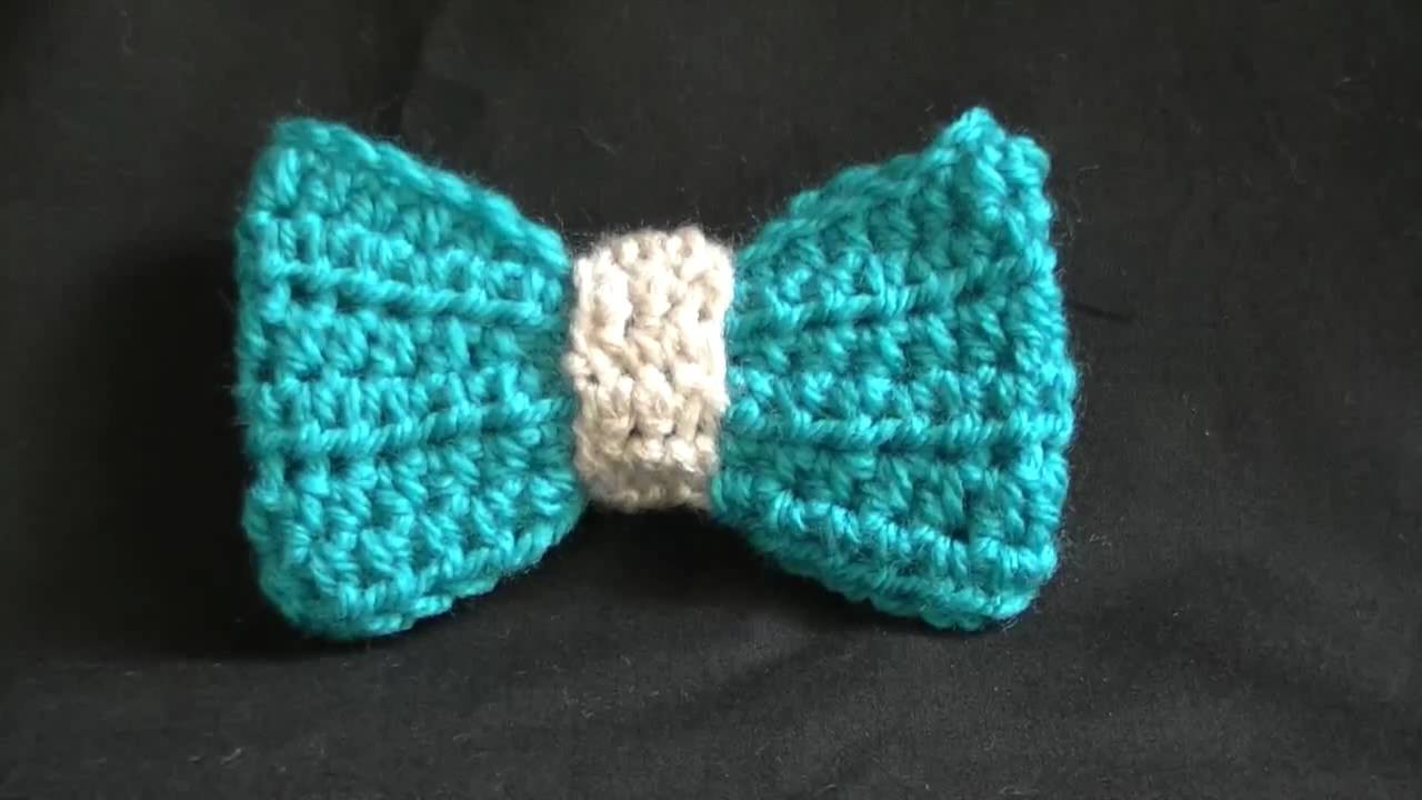 How to Crochet  Bow - Easy