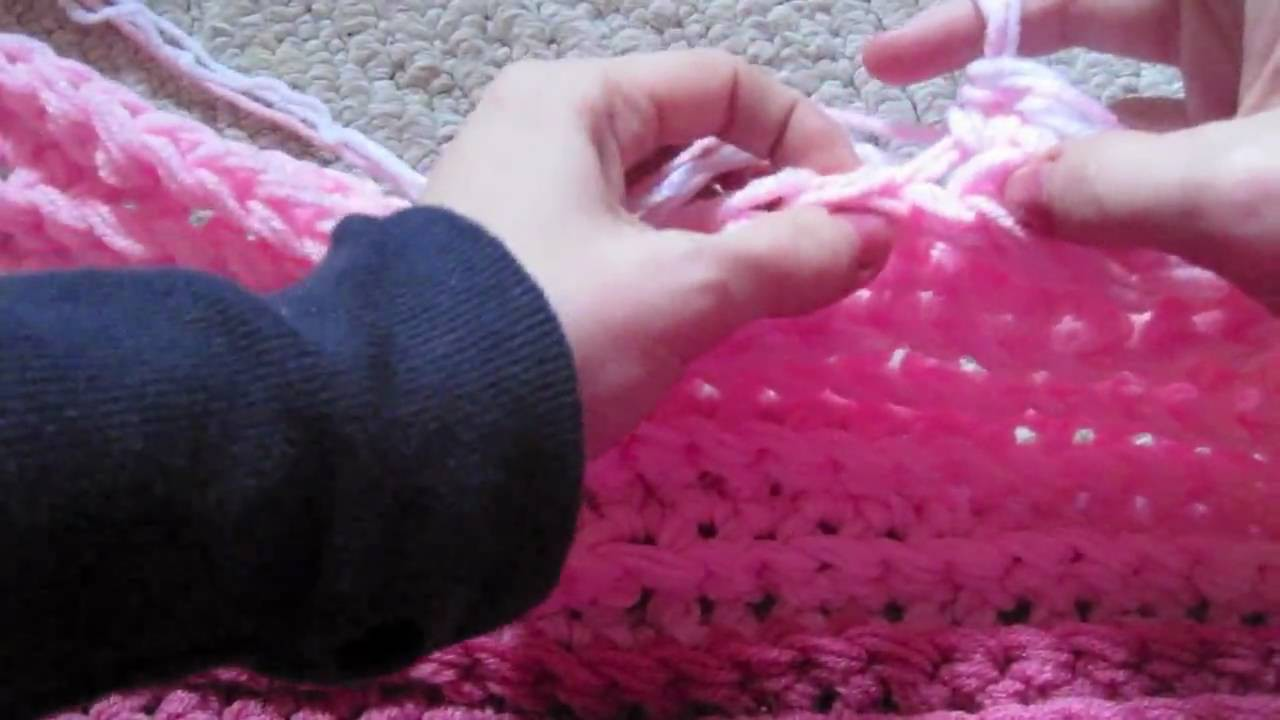 How To: Finger Crochet