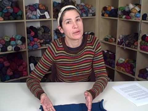 How to Knit a Sweater - Lesson 1 (Part 1 of 2)