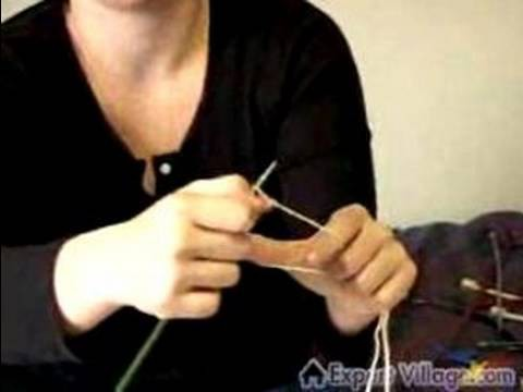 How to Knit for Beginners : How to Cast On in Knitting