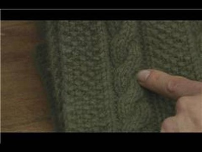 How to Knit : How to Knit a Cable Stitch