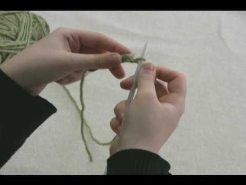 How to Knit: Knit Stitch