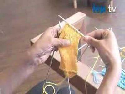 How to Knit Socks, part 3 Turn Heel.Shape heel gu