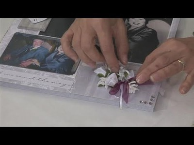 How To Lay Out A Wedding Scrapbook