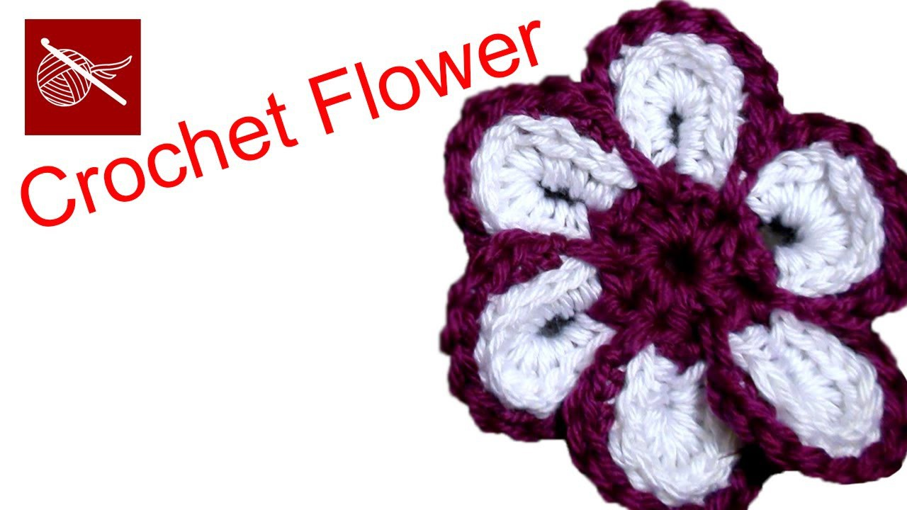 How to make a Cheerful Crochet Flower - Crochet Geek May 29 Video