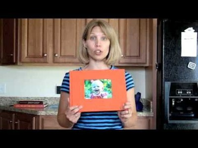 How to make an EASY Scrapbook